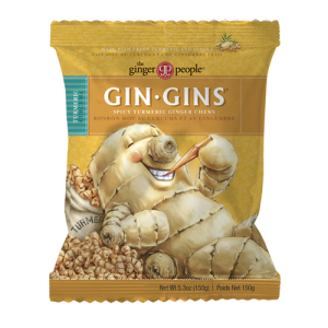 spicy turmeric gin gins - ginger people - ginger candy