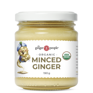 organic minced ginger - ginger people