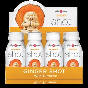 turmeric shot - ginger people - ginger shot