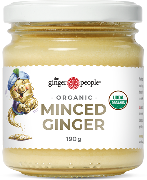 organic minced ginger - the ginger people