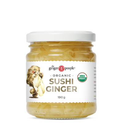 pickled sushi ginger - the ginger people