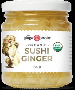 pickled sushi ginger - the ginger people
